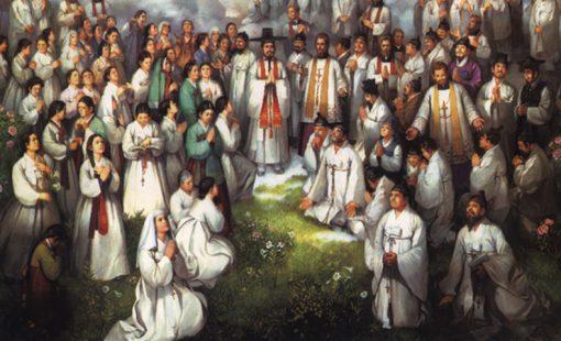 Saints Andrew Kim Taegon, Paul Chong Hasang, and Companions