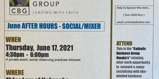 June 17, 2021 – SOCIAL/MIXER (4:30pm)