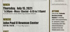 July – SOCIAL/MIXER Networking