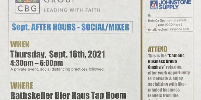 September – SOCIAL/MIXER Networking: